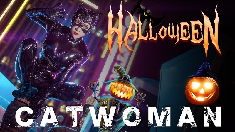 Cosplay of Halloween by Roanyer - Catwoman