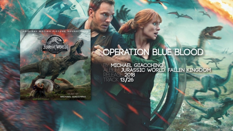 Operation Blue Blood - Michael Giacchino [Jurassic World Fallen Kingdo 1080 x 1920