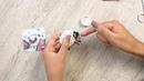 Как вышить брошь из бисера Оформляем бисером край броши по кругу Выпуск 5