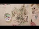 Приглашение и трейлер онлайн-курса 1000 лет - 100 художников - продолжение