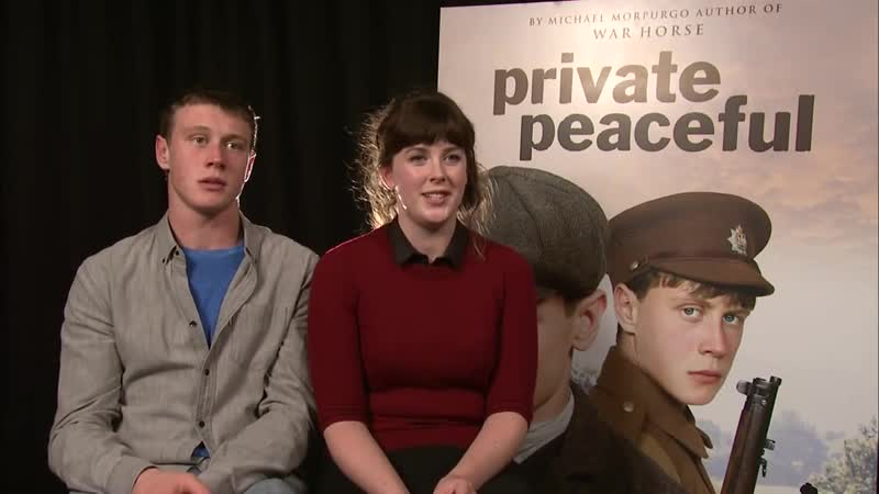 Private Peaceful George Mackay Interview part 3