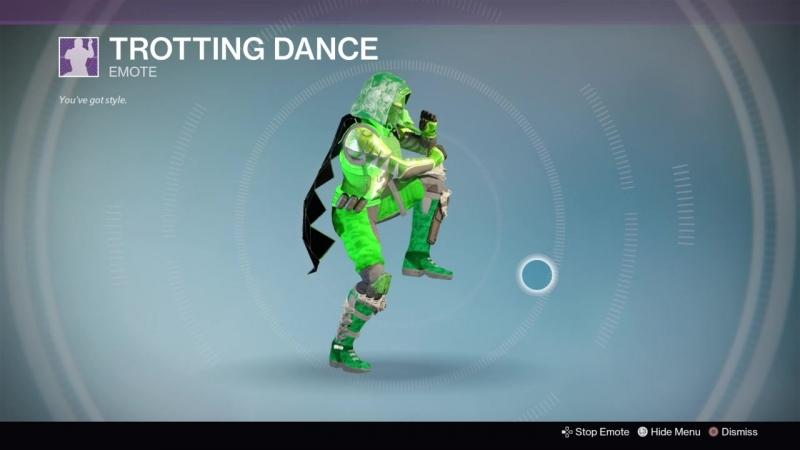Destiny_20180130 GREEN SALAT.HUNTER WOMEN vers40.TROTTING DANCE .