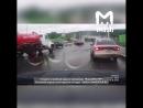 В Томске у грузовика с щебнем отказали тормоза и он на скорости въехал в пробку, пострадало шесть человек