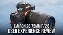 Tamron 28 75mm f 2 8 for Sony FE User Experience Review Cuba Travel VLOG Sony a7III a7RIII a7SII