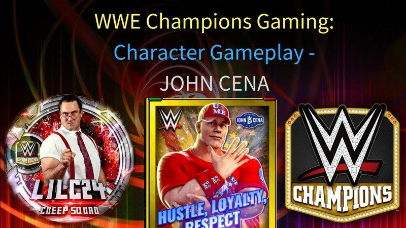 WWE Champions - 🎥 John Cena 3 STAR GOLD Character Gameplay