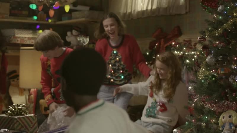 Un regalo per Spelacchio dai ragazzi di Stranger Things ¦ Netflix