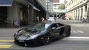 Loud Lamborghini Aventador LP700-4 w/ Capristo exhaust in Zurich. Brutal sound!