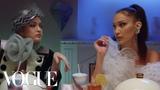 Gigi, Bella &amp Anwar Hadid Have Dinner With Yolanda Vogue