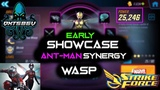 Wasp Gameplay (Ant-Man Synergy) - Marvel Strike Force - MSF