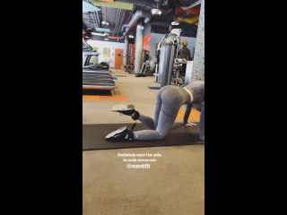 Instagram stories Мэделин Петш