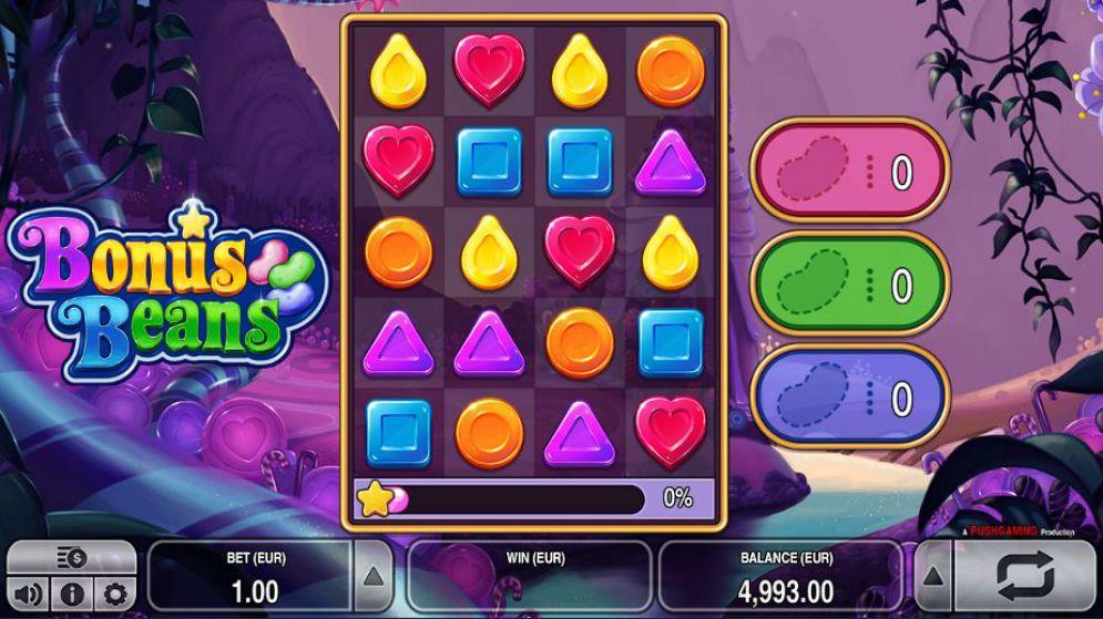 Обзор игровых автоматов Бонусные бобы (Bonus Beans)