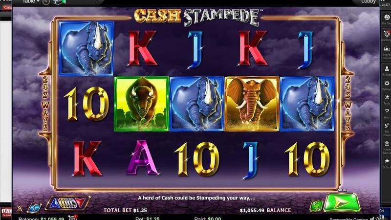 Слот Cash Stampede и White Buffalo на Покерстарс! Slot machine on PokerStars
