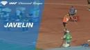 Magnus Kirt 89.75 Wins Men's Javelin Throw - IAAF Diamond League Rabat 2018