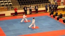 Charlotte Nickson (WAL) v Alina Pushkareva (RUS) - Female II Dan Pattern Final