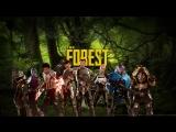 The Forest, потом Mass Effect: Andromeda - Лесная болванка
