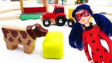 Spielzeug aus Holz - Unsere Brio Stadt - Wir bauen einen Bauernhof