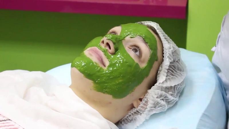 Хлорелла маска, результаты за курс