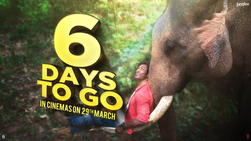 Junglee | 6 days to go | Vidyut Jammwal | 29th March