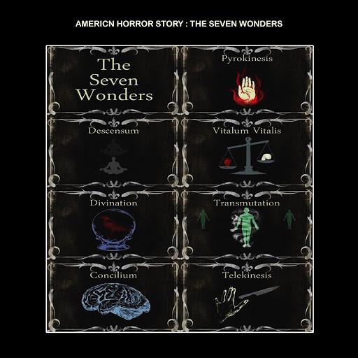 American Horror Story альбом The Seven Wonders