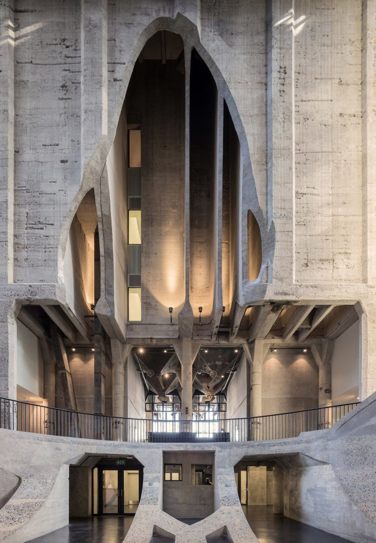 Thomas Heatherwick reveals Zeitz MOCAA art galleries carved out of Cape Town grain silo