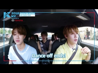 180811 Surprise Ride Drive with Golden Child! Episode 4