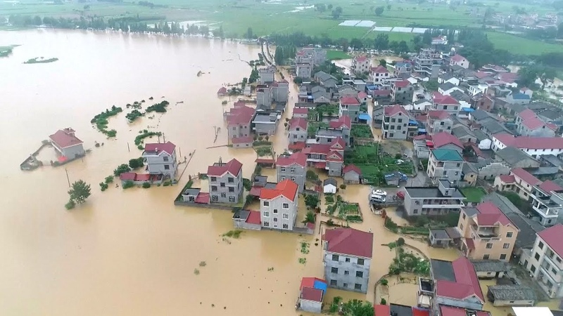 Typhoon Ewiniar floods villages, soaks cities in East and South China