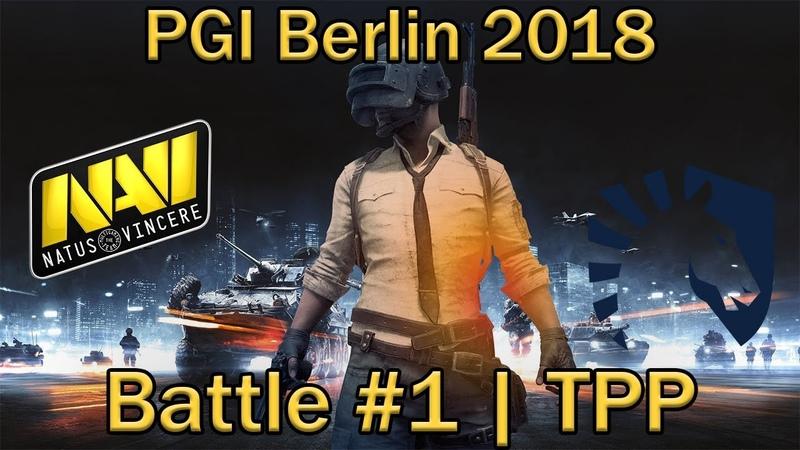 ПЕРВЫЙ матч ЧЕМПИОНАТА МИРА по PUBG | Battle 1 Day 1 [RU] | 4x4, TPP | LAN PUBG Global Invitational