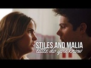 Teen Wolf Stiles and Malia Little Do You Know