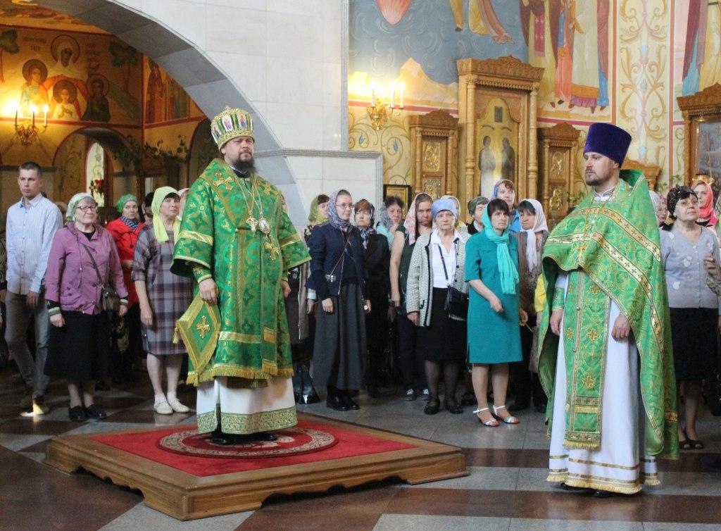 День Святой Троицы отметили в Биробиджанской епархии.