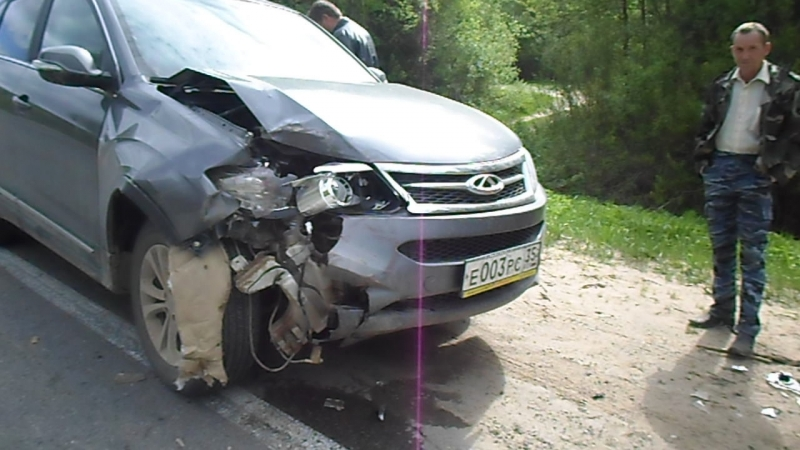 Авария на тотемской трассе! ГужевTV