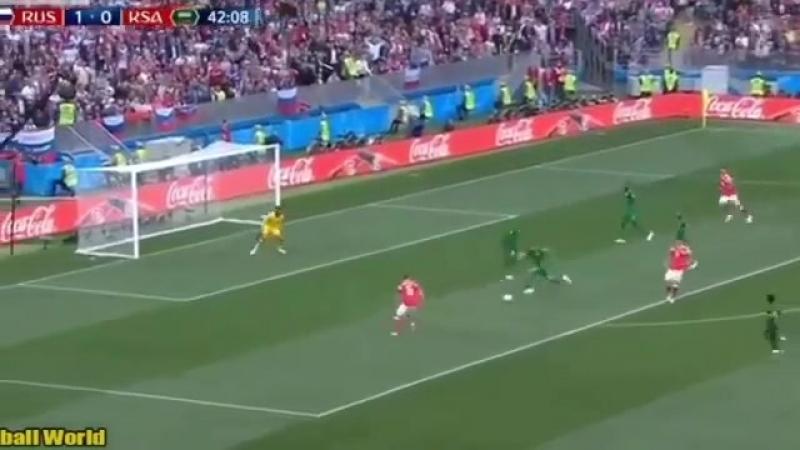 Россия - Саудовская Аравия 5:0 УГАРНАЯ ОЗВУЧКА на украинском