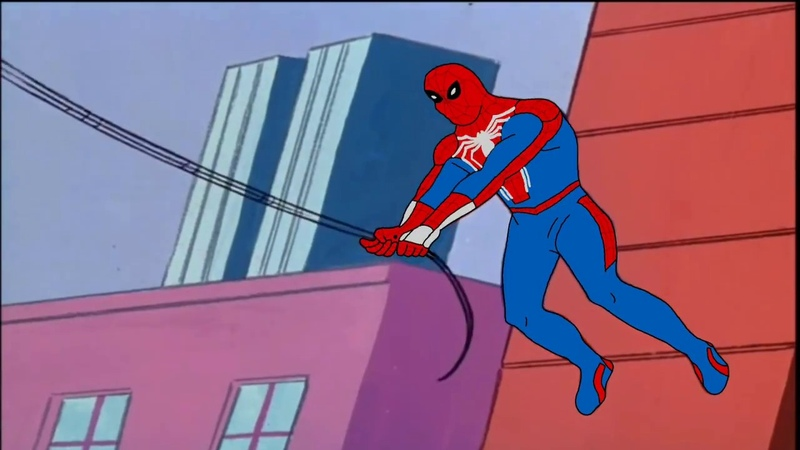Spider-Man PS4 - 60s Intro Style (Fan Animation)