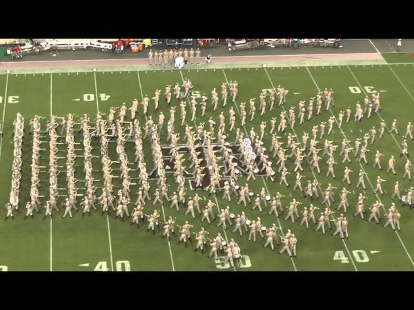 Fightin Texas Aggie Band Halftime Show - Ball State Game at Kyle Field on September 12, 2015