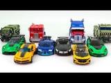 Transformers AOE VS TLK Autobot Optimus Prime Bumblebee Hound Drift Crosshair Vehicle Car Robot Toys