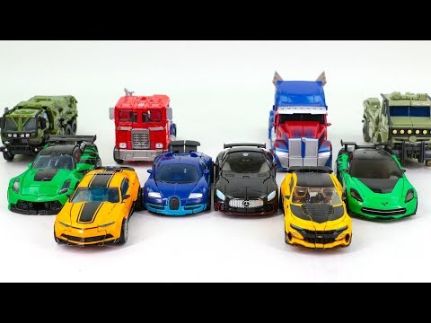 Transformers AOE VS TLK Autobot Optimus Prime Bumblebee Hound Drift Crosshair Vehicle Car Robot Toys