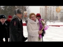 Награждение Людмилы Воловой за помощь в проведении военно врачебной комиссии