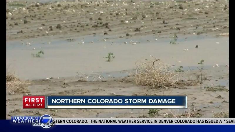 Northern Colorado storm damage
