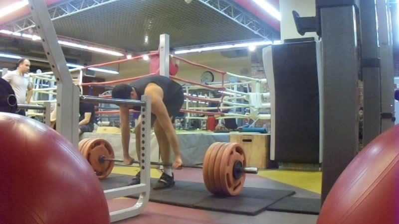 Становая тяга 222 5 кг Норматив мастера спорта по версии AWPC в весовой категории до 90 кг