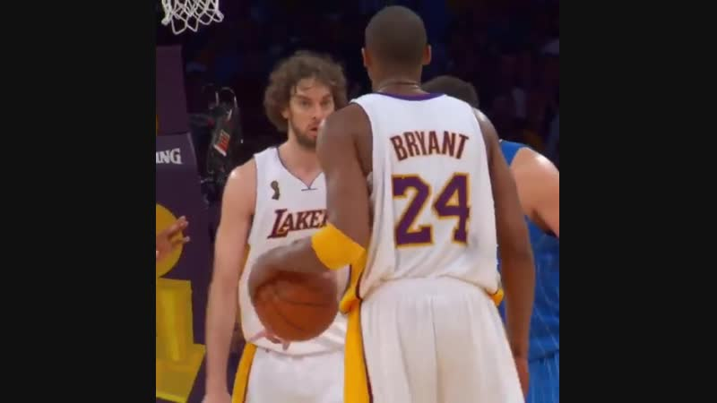 (2009) That Kobe and Pau connection!