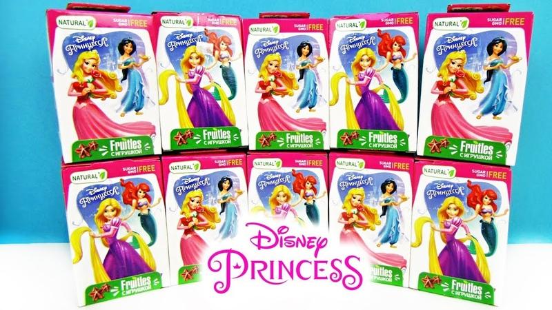 ПРИНЦЕССЫ ДИСНЕЯ СВИТ БОКС 2018 СЮРПРИЗЫ ИГРУШКИ мультики Princess Disney Sweet Box unboxing