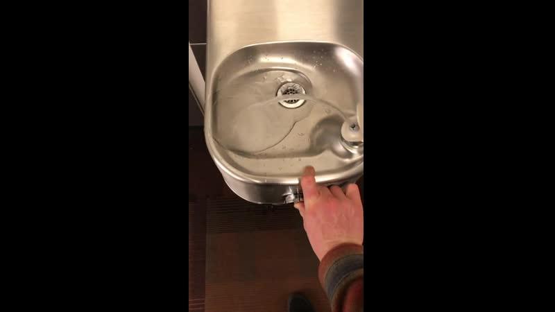 Питьеьвой фонтанчик для мытья пола
