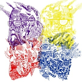Portugal. The Man альбом Purple Yellow Red and Blue