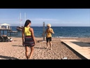Девушка С Красивой Фигурой Встретила Танцора На Пляже 2018 ALISHKA Турция