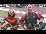 Chris and Abigail Dive Superlite Helmets - 2018 NEDEG Memorial Day Rally