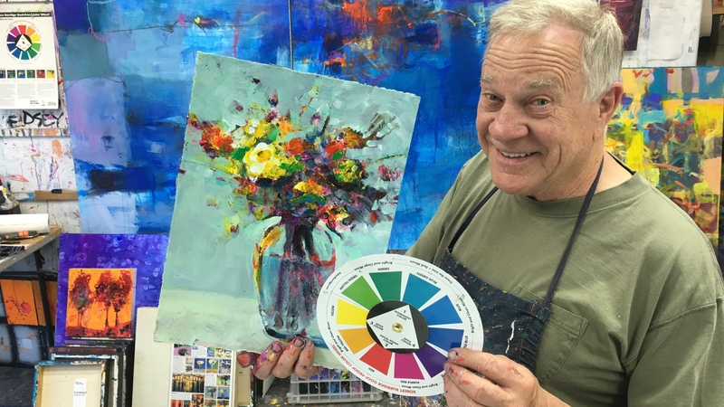 BobBlast 98 My Goof Proof Color Wheel for Abstracts Realism.