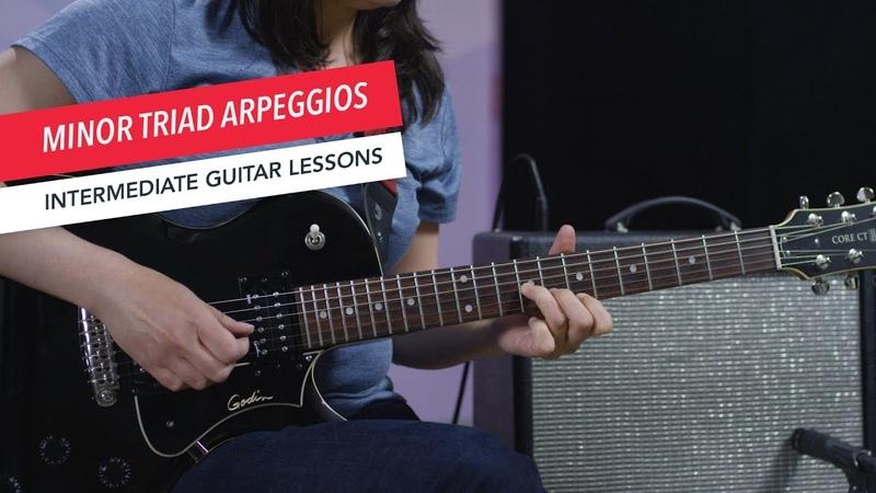 How to Play Guitar Minor Arpeggios Intermediate Guitar Lessons