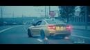 Красивый дрифт в городе Москва Сити BMW M4 BMW M4 Crazy Moscow City Driving zelimkhanshm