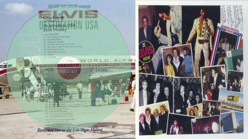 ELVIS PRESLEY - DESTINATION USA CD 1 FTD