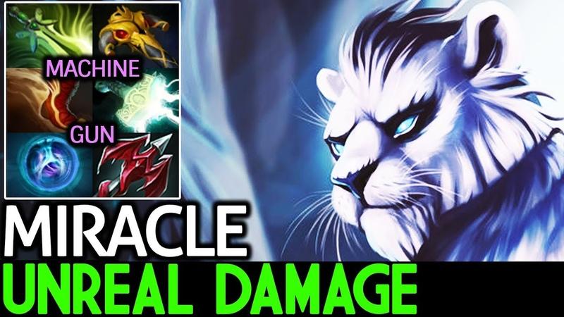 Miracle- [Mirana] Insane Machine Gun   Unreal Damage 7.16 Dota 2