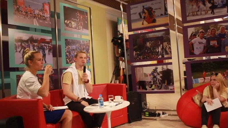 Встреча с артистом в штабе Физрук Кадеты 13 07 2018